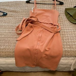 Brand new Privacy Please XS Coral dress